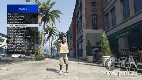 GTA 5 Scenario Menu 1.1 vierten Screenshot