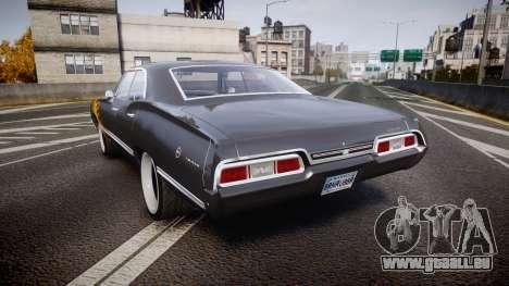 Chevrolet Impala 1967 Custom livery 2 pour GTA 4 Vue arrière de la gauche