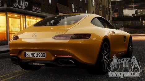 Mercedes-Benz SLS AMG GT 2016 pour GTA 4 est un droit