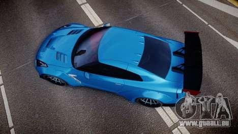 Nissan GT-R (R35) pour GTA 4 est un droit
