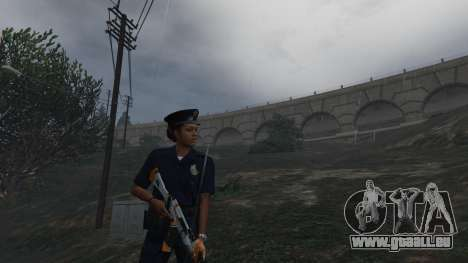 GTA 5 PoliceMod 2 2.0.2 huitième capture d'écran