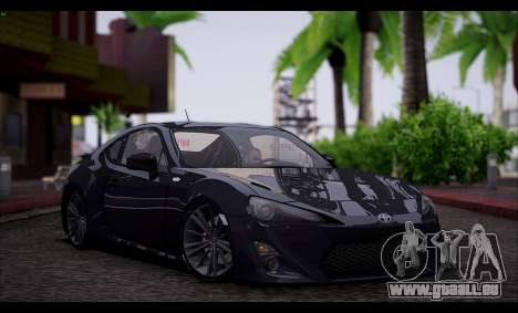 Toyota GT86 2012 BUFG Edition für GTA San Andreas