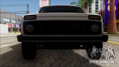 VAZ Niva 2121 BUFG Édition pour GTA San Andreas vue de côté