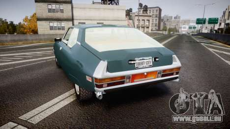 Citroen SM pour GTA 4 Vue arrière de la gauche