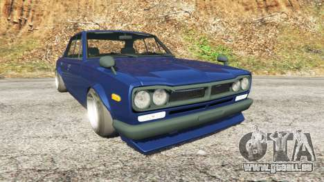 Nissan Skyline 2000 GT-R 1970 v0.2 [Beta] pour GTA 5