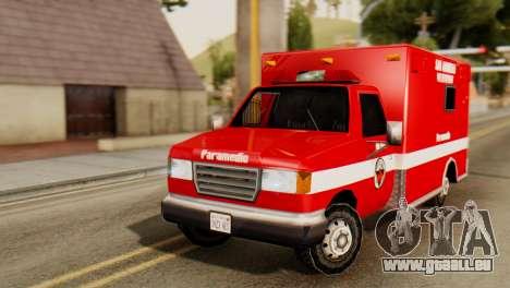SAFD Ambulance pour GTA San Andreas