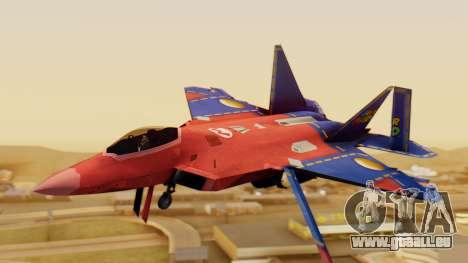 F-22 Raptor MARIO pour GTA San Andreas