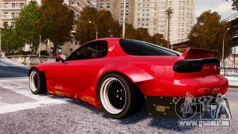 Mazda RX-7 RocketBunny EPM pour GTA 4 est une gauche