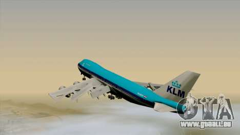 Boeing 747-200B KLM für GTA San Andreas linke Ansicht