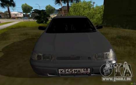 VAZ 2112 Lipetsk pour GTA San Andreas vue de droite