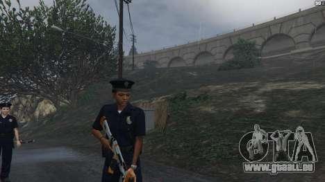 GTA 5 PoliceMod 2 2.0.2 septième capture d'écran