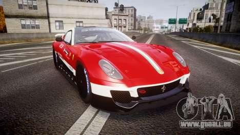 Ferrari 599XX 2010 Scuderia Ferrari für GTA 4