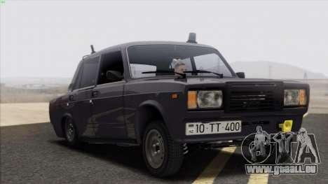VAZ 2107 Avtosh Style für GTA San Andreas Seitenansicht