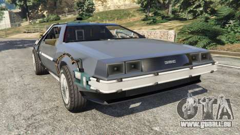 DeLorean DMC-12 Back To The Future v0.1 pour GTA 5