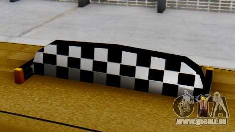 Vapid Landstalker Taxi SR 4 Style für GTA San Andreas rechten Ansicht