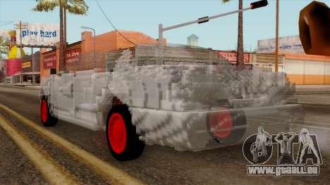 Kerdi Design Washington Crystals pour GTA San Andreas laissé vue