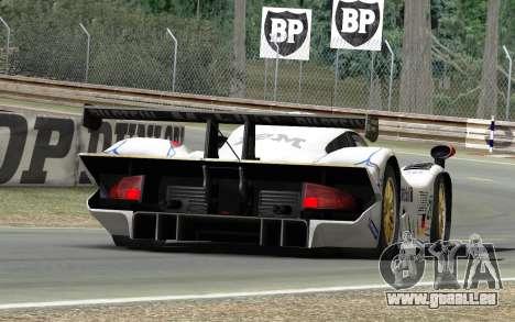 Porsche 911 GT1 1998 pour GTA 4 est une gauche