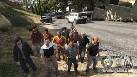 GTA 5 Farnsworths Assassinations and Bodyguards 0.81 septième capture d'écran