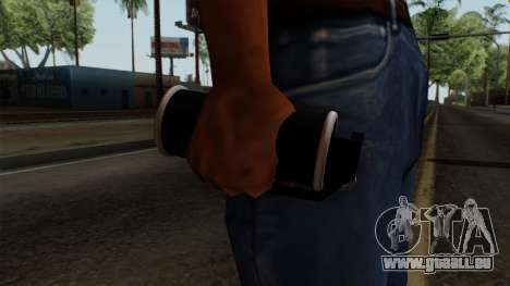 Original HD Tear Gas für GTA San Andreas