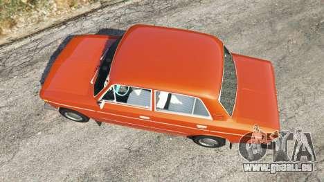 GTA 5 VAZ-2106 Rückansicht