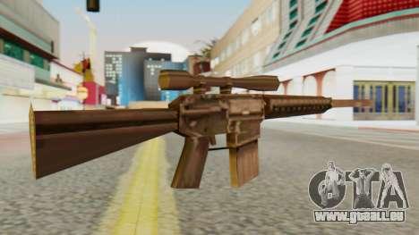 SR-25 SA Style für GTA San Andreas zweiten Screenshot