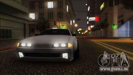 Elegy Rocket Bunny Edition für GTA San Andreas linke Ansicht