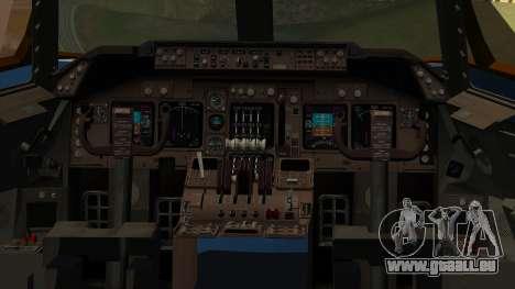 Boeing 747 E-4B pour GTA San Andreas vue arrière