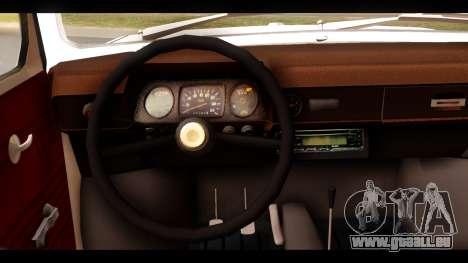 ZAZ ET pour GTA San Andreas sur la vue arrière gauche