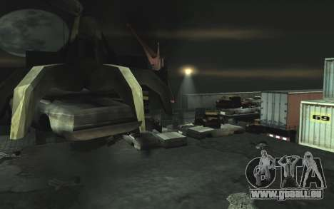 KFZ Schrottplatz v0.1 für GTA San Andreas her Screenshot