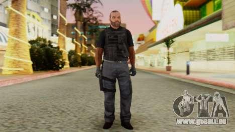 [GTA5] BlackOps2 Army Skin Black für GTA San Andreas zweiten Screenshot