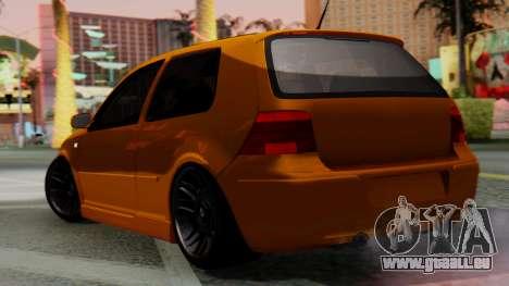 Volkswagen Golf Mk4 für GTA San Andreas linke Ansicht