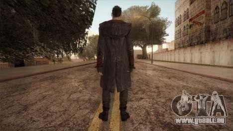 Dante from DMC pour GTA San Andreas deuxième écran