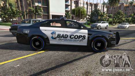 GTA 5 Bad Cops LSPD Livery 1.1