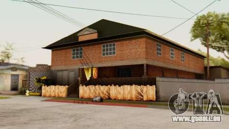 La maison de CJ pour GTA San Andreas deuxième écran