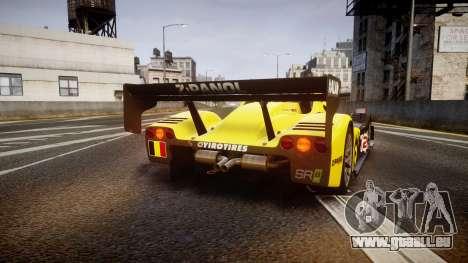 Radical SR8 RX 2011 [2] für GTA 4 hinten links Ansicht