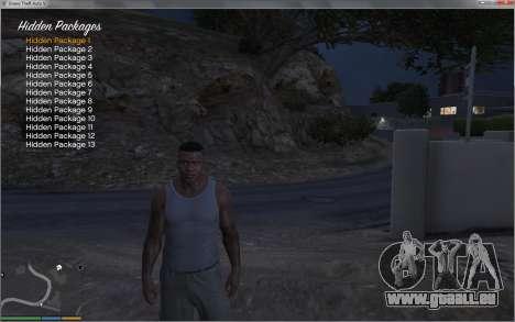 GTA 5 Collectable Collector cinquième capture d'écran
