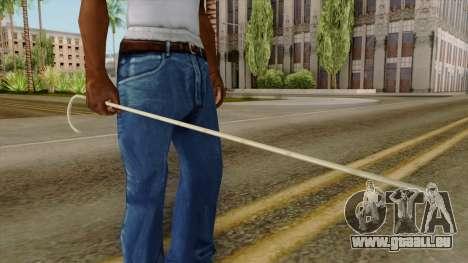 Original HD Cane für GTA San Andreas dritten Screenshot