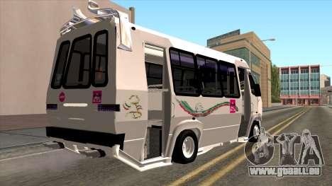 Ford Prisma IV Microbus pour GTA San Andreas laissé vue