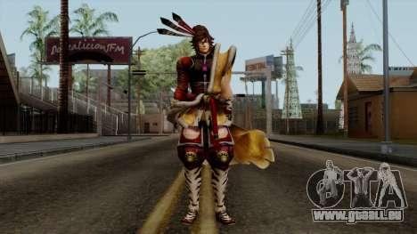 Sengoku Basara 3 - Maeda Keiji für GTA San Andreas zweiten Screenshot