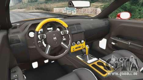 Dodge Challenger SRT8 2009 v0.1 [Beta] pour GTA 5