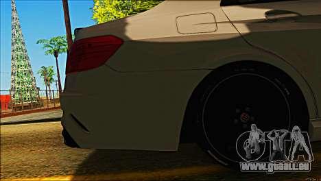 Mercedes-Benz E63 Brabus BUFG Edition pour GTA San Andreas vue de côté
