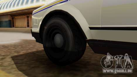GTA 5 Albany Esperanto Police Roadcruiser für GTA San Andreas zurück linke Ansicht