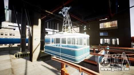 GTA V Cable Car pour GTA 4 troisième écran