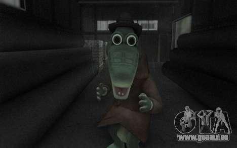 Krokodil Gena für GTA San Andreas her Screenshot