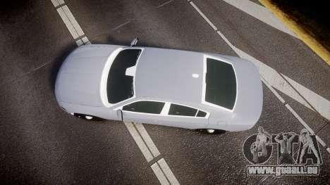 Dodge Charger 2015 Unmarked [ELS] pour GTA 4 est un droit