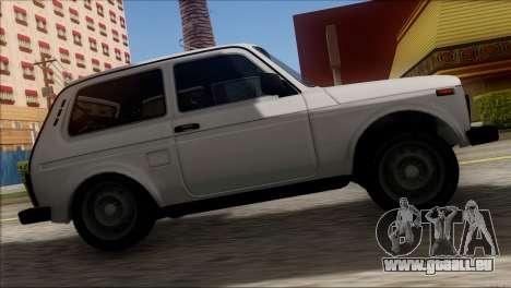 VAZ Niva 2121 BUFG Édition pour GTA San Andreas vue arrière
