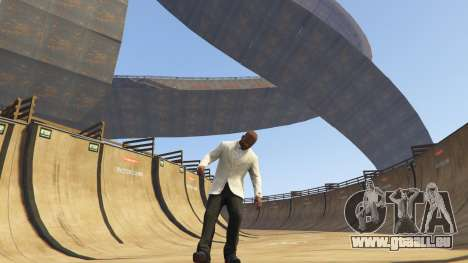 Double-Loop Racing-Court für GTA 5
