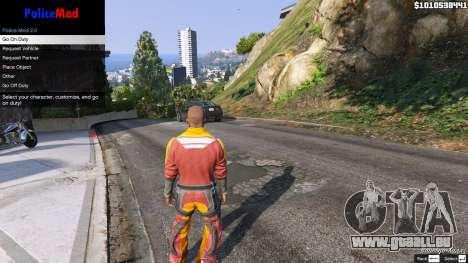 GTA 5 PoliceMod 2 2.0.2 quatrième capture d'écran