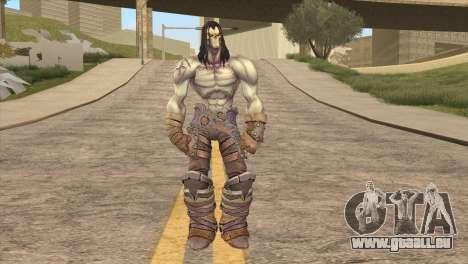 Death from Skyrim pour GTA San Andreas deuxième écran