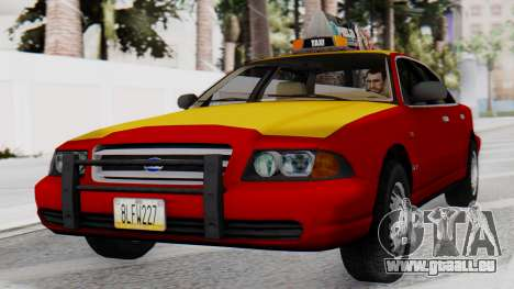 Dolton Broadwing Taxi pour GTA San Andreas
